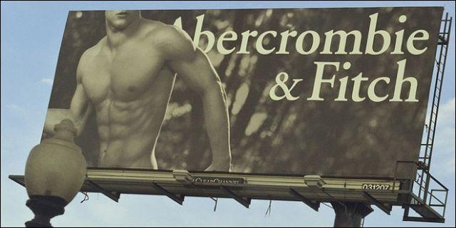Publicidad de Abercrombie & Fitch