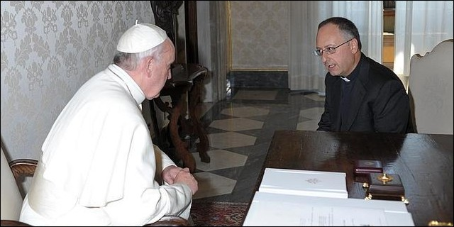 El Papa Francisco entrevistado por Spadaro