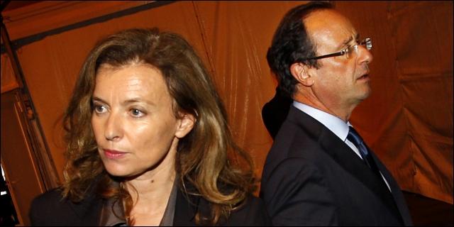 Valérie Trierweiler y François Hollande
