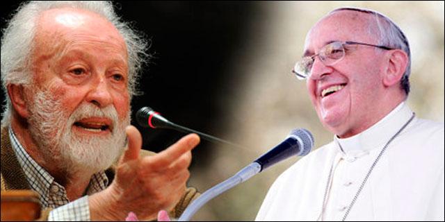 El Papa Francisco y el periodista Scalfari