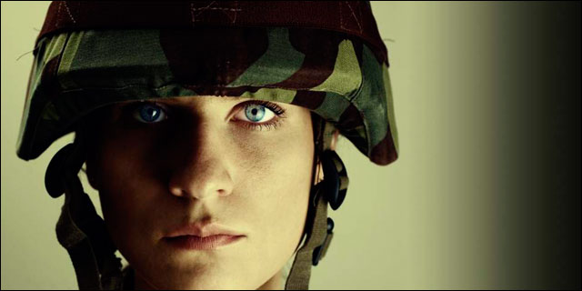 Mujer militar