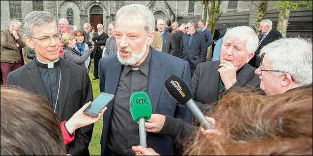 El arzobispo de Dublín, monseñor Doran