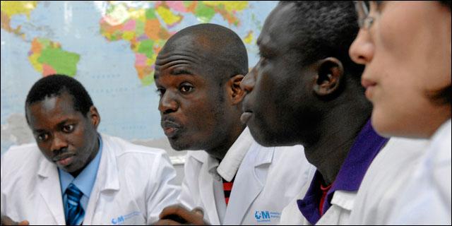 Personal sanitario inmigrante en Madrid
