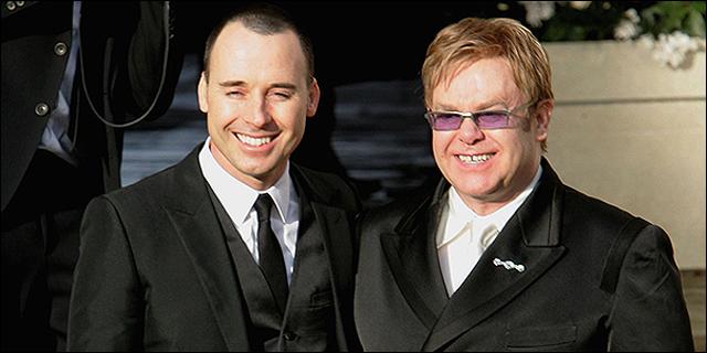 David Furnich y Elton John