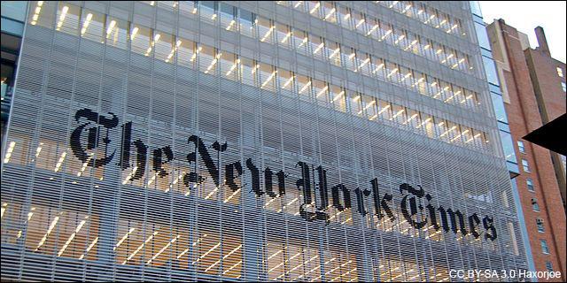 Sede del New York Times