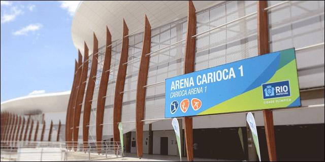 El nuevo complejo Arena Carioca, construido para las Olimpiadas de Río al costo de 500.000 millones de dólares